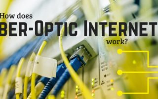 How does Fiber-Optic Internet Work