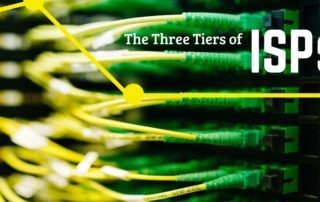 Three Tiers of ISPs